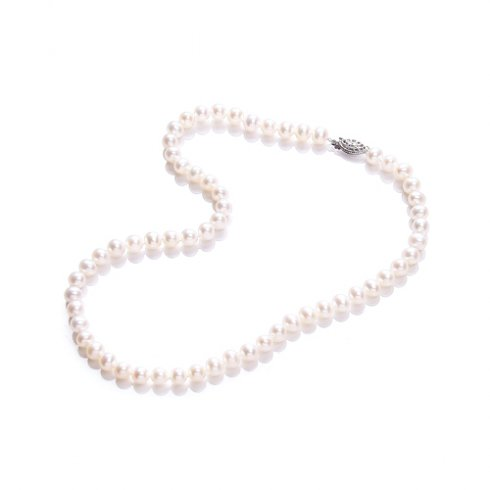 Purity 925 Pearl Single Rown Necklace PUR6140
