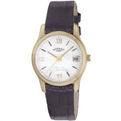 Rotary Ladies' Leather Strap Watch LSI2368/41