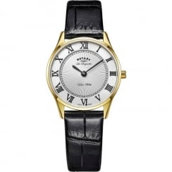 Rotary Ladies' Les Originales Ultrra Slim Strap Watch LS90803/01