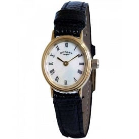 Rotary Ladies' Oval Strap Watch LSI00471/07