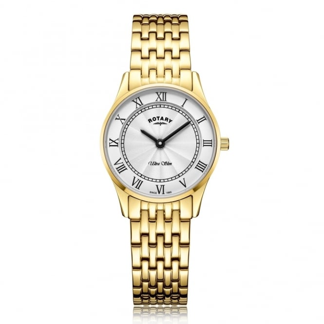 Rotary Ladies' Ultra Slim Bracelet Watch LB08303/01