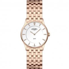 Rotary Ladies' Ultra Slim Watch - LB08204/02