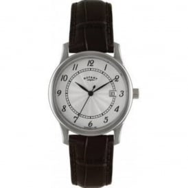 Rotary Men's Leather Strap Watch GS00792/22