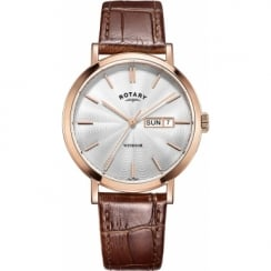Rotary Men's Windsor Rose Strap Watch GS05304/02