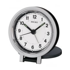 Seiko Clock Travel Alarm Clock QHT011K