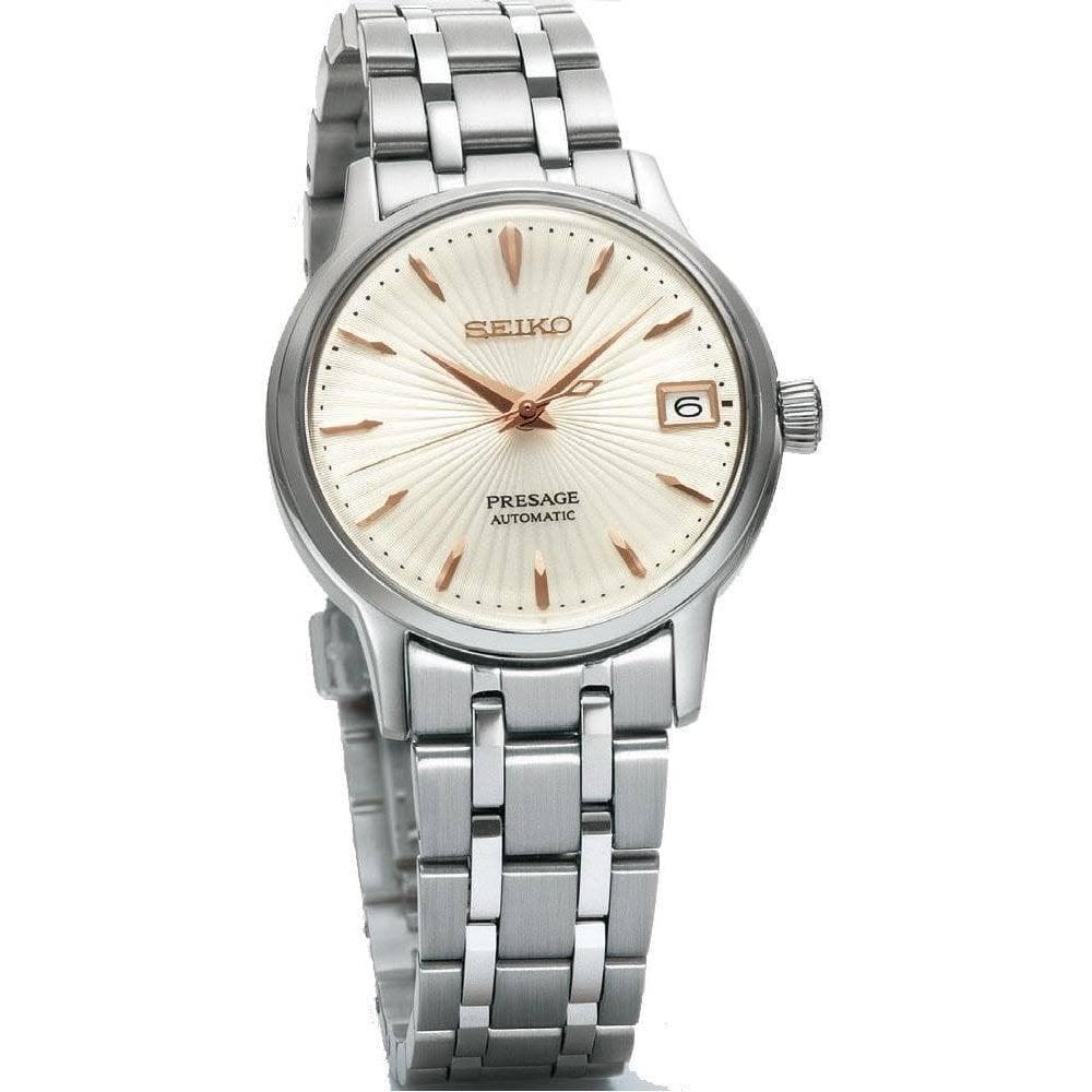 29fe6a507 Seiko Ladies' Presage Automatic Bracelet Watch SRP855J1 - Watches ...