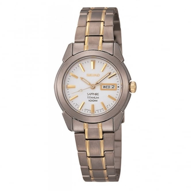 Seiko Ladies Titanium Bracelet Watch SXA115P1