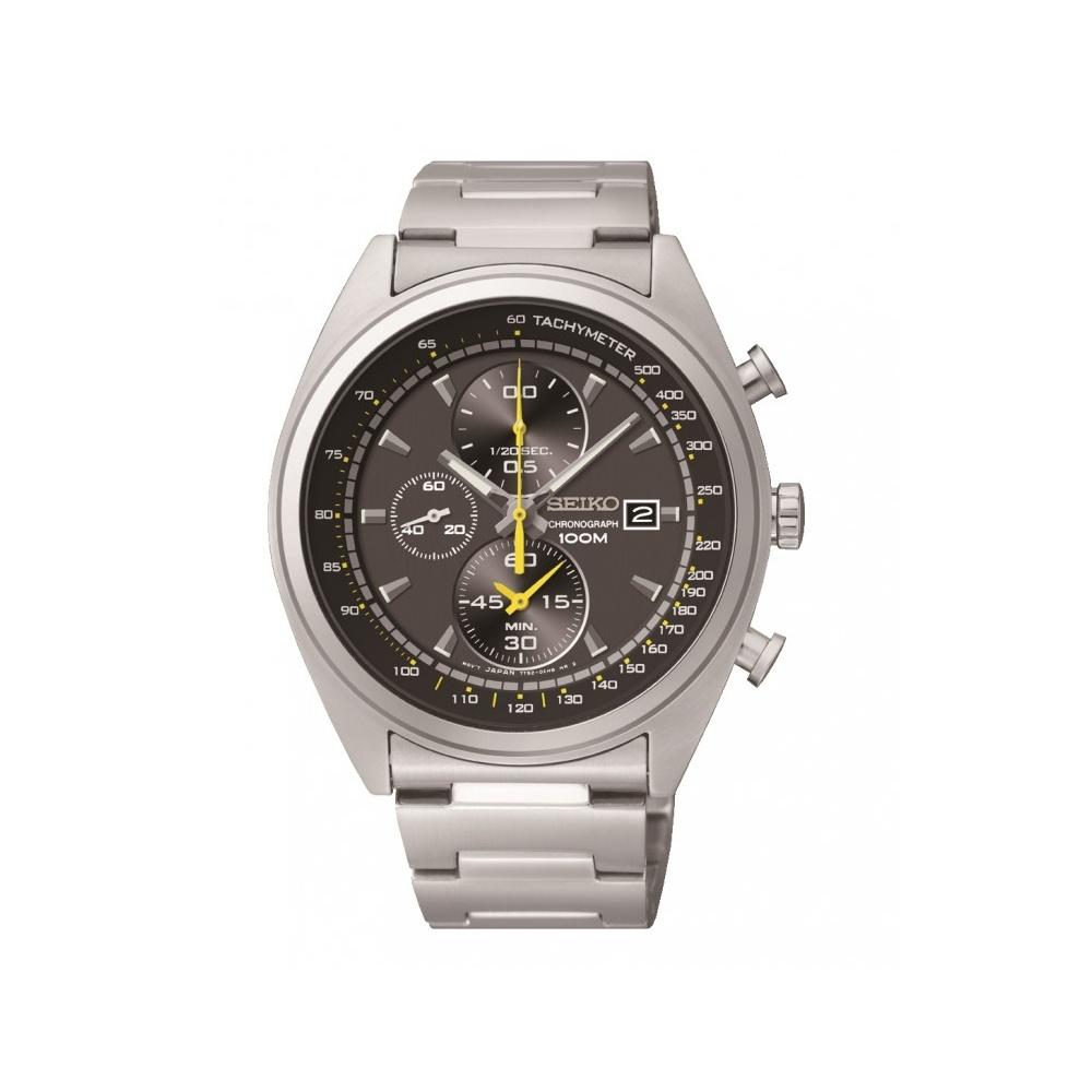 Seiko Mens Chronograph Watch SNDF85P1 EBay