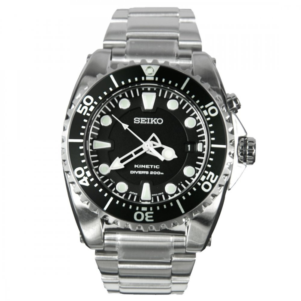 Seiko Men S Prospex Kinetic Divers Watch Ska371p1 Watches From