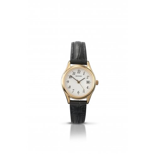 Sekonda Ladies' Leather Strap Watch 4082