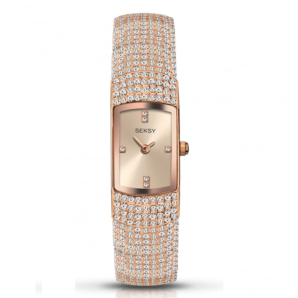 Seksy by Sekonda Ladies  Swarovski Crystal Watch 2374 - Watches from ... c6abe65e14a3