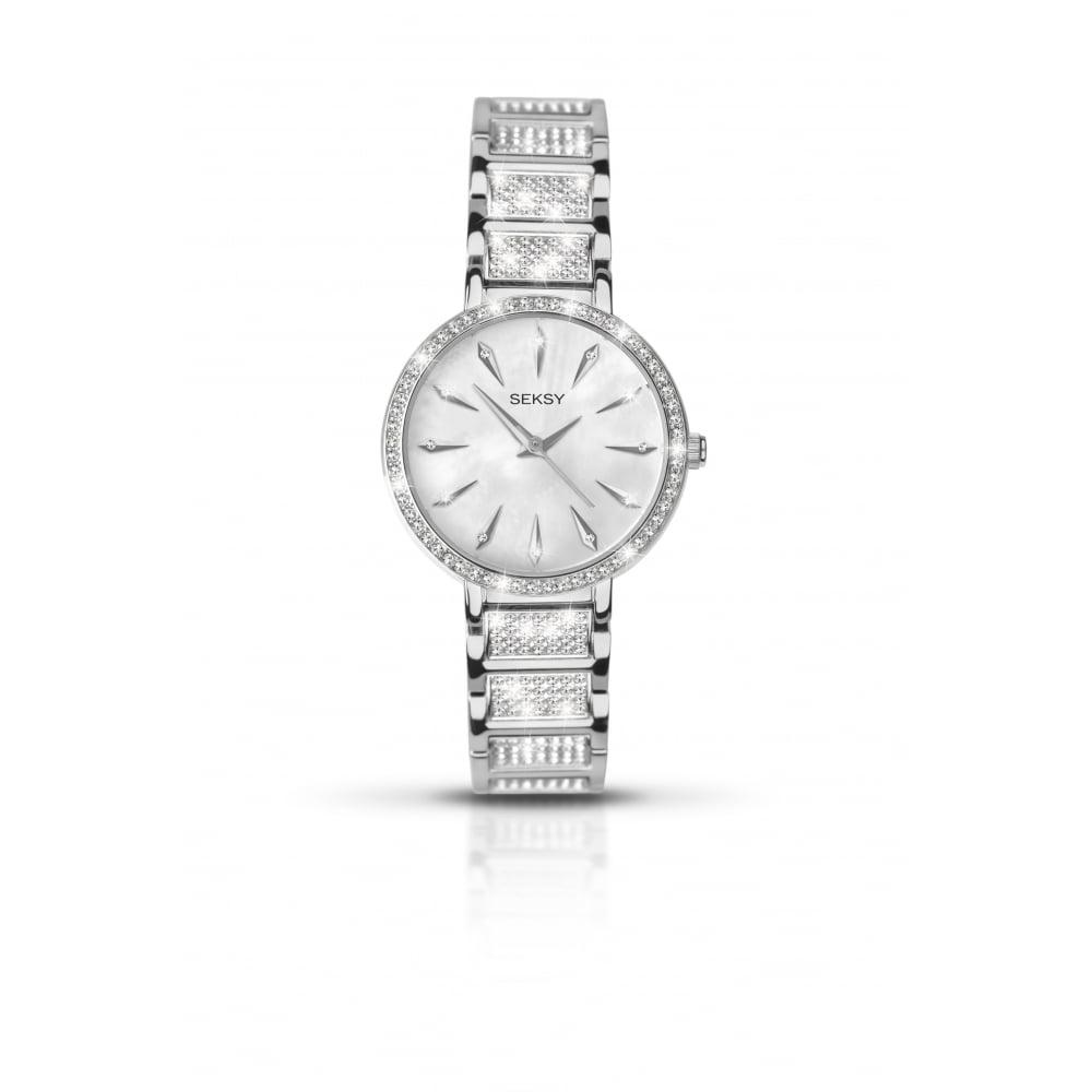 Seksy Ladies  Swarovski Crystal Watch 2371 - Watches from Lowry ... 12b4eeba5417