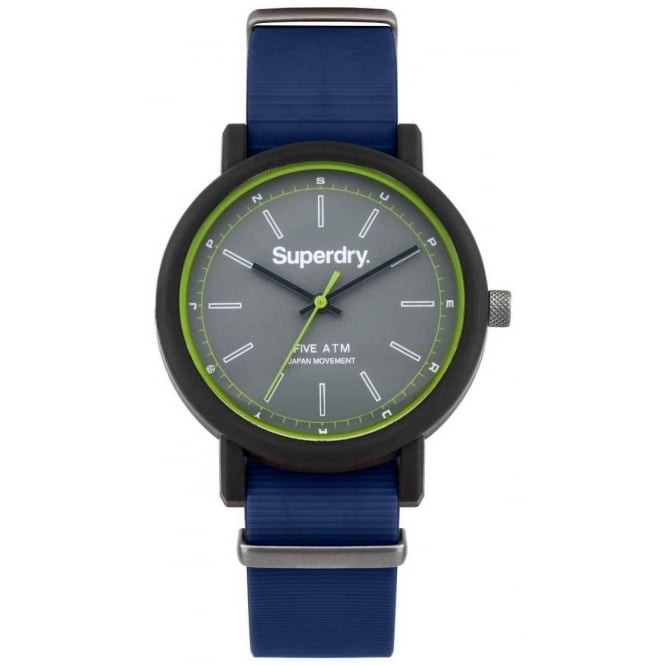 Superdry Men's Campus Nato Watch SYG197U