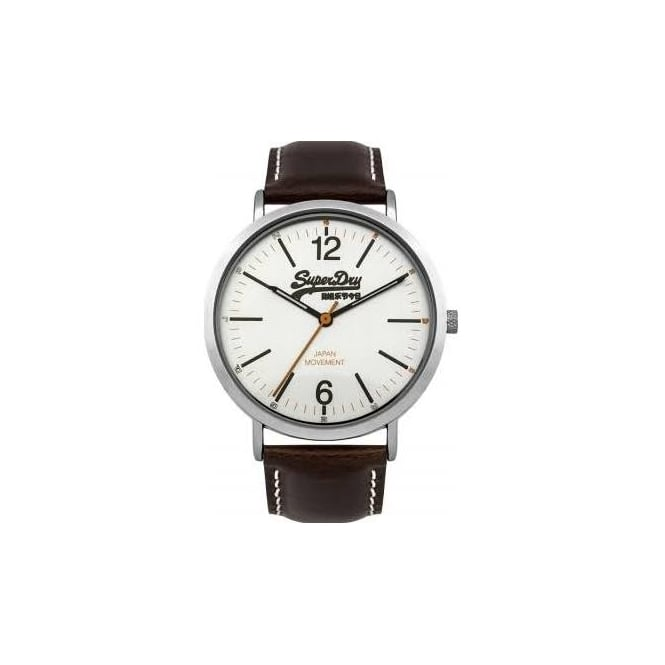 Superdry Men's Oxford Leather Watch SYG194TS