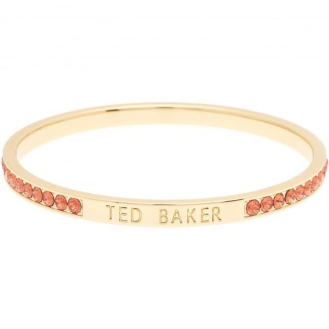 Ted Baker Jewellery Clem Narrow Crystal Band Bangle TBJ1050-02-150