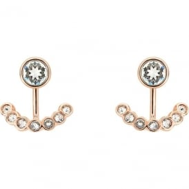 Ted Baker Jewellery Coraline Concentric Crystal Rose Earrings TBJ1318-24-02