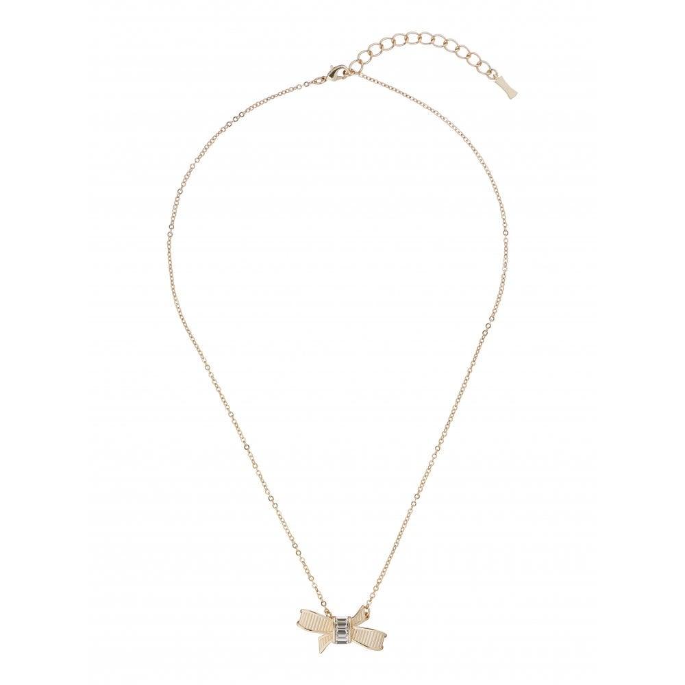 cb17b955e48 Ted Baker Jewellery Dameka Ribbon Bow Pendant TBJ1893-30-02 ...