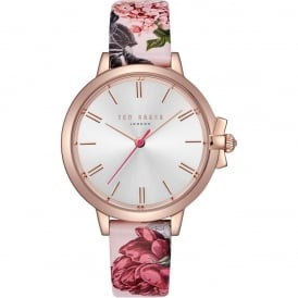 Ted Baker Ruth Ladies' Leather Strap Watch TE50267001