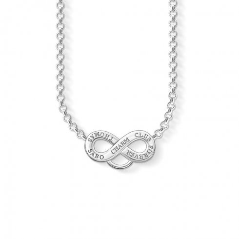 Thomas Sabo Charms Thomas Sabo Charm Carrier Infinity Necklace X0206-001-12-L42V