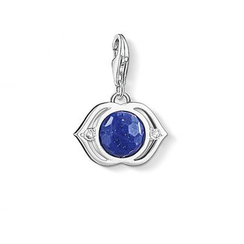 Thomas Sabo Charms Blue Lotus Charm 1329-086-32