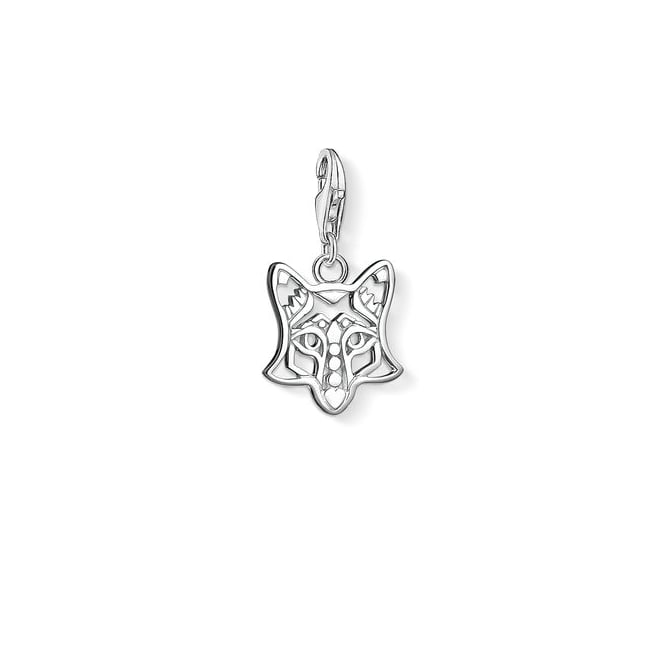 Thomas Sabo Charms Silver Fox Charm 1395-001-12