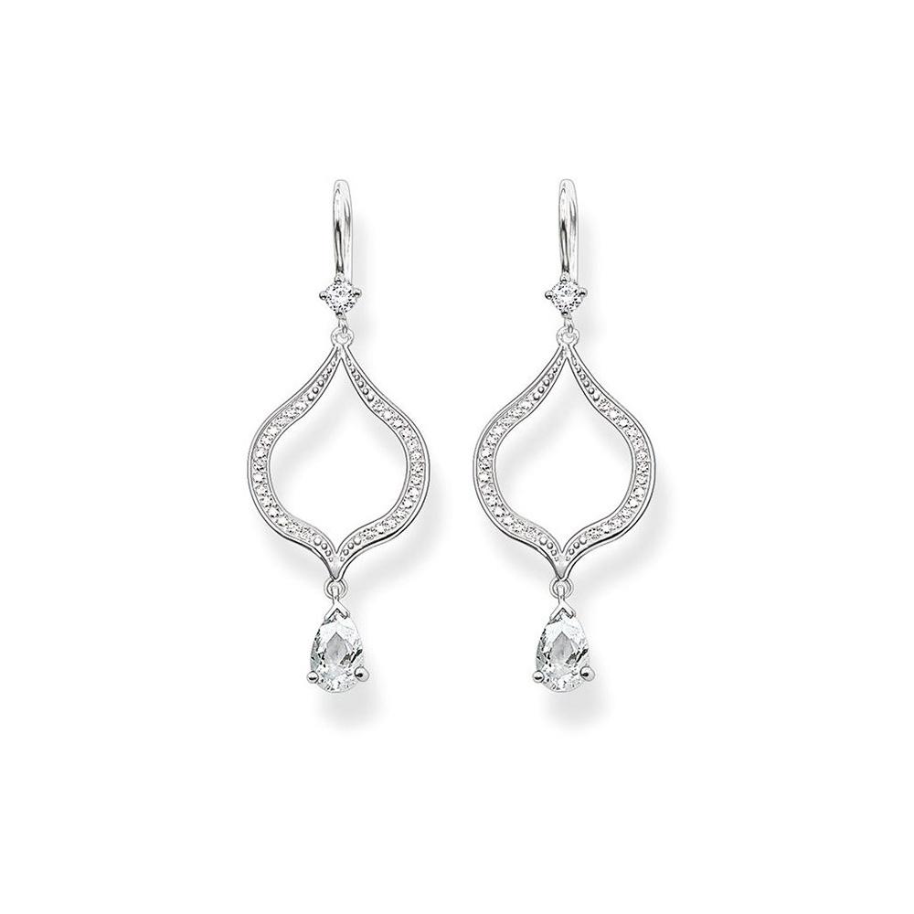 Thomas Sabo Jewellery Cz Drop Earrings H1841 051 14