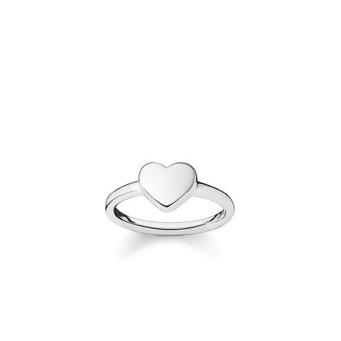 Thomas Sabo Jewellery Silver Heart Ring TR2080-001-12-56