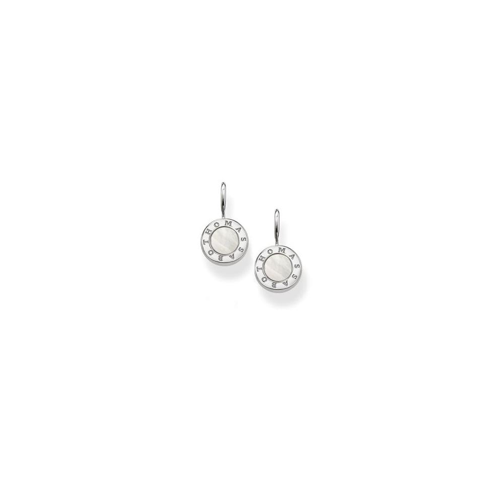 0ae4622e0 Thomas Sabo Jewellery Thomas Sabo Silver Mother Of Pearl Earrings ...