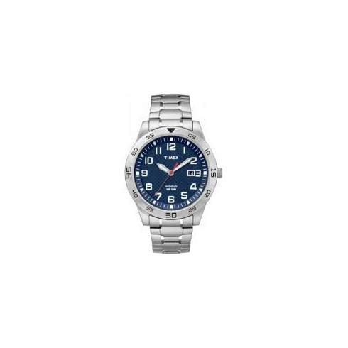 Timex men 39 s indiglo bracelet watch tw2p61500 watches from lowry jewellers uk for Indiglo watches