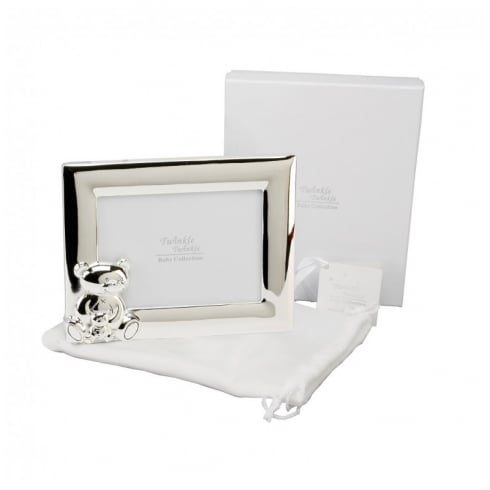 Bambino Twinkle Twinkle Silver Plated Landscape Photo Frame 3.5
